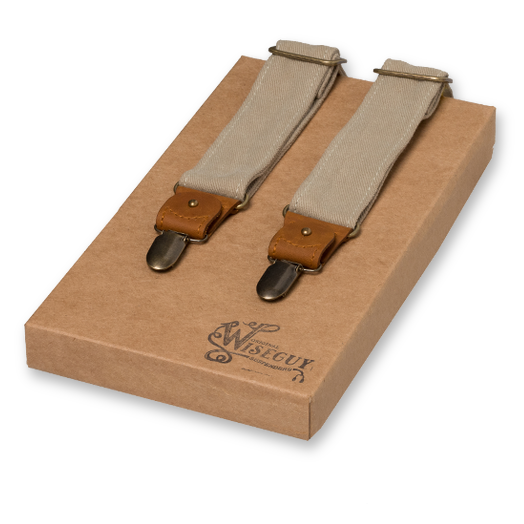 Wiseguy Suspenders - The Duck Canvas Beige (1)