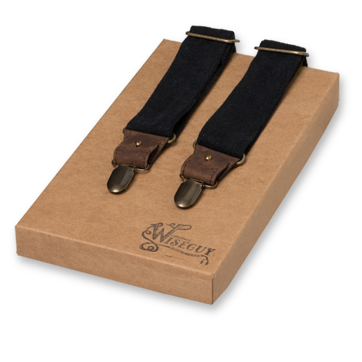 Wiseguy Suspenders - The Duck Canvas Negros (1)
