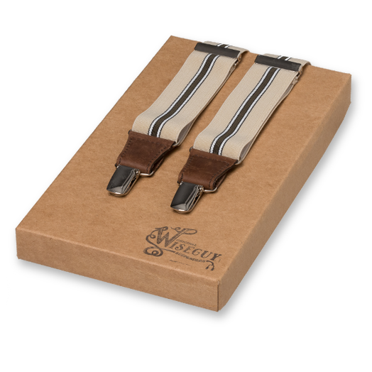 Wiseguy Suspenders - The Lawyer beige (1)