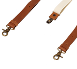 Wiseguy Suspenders - Crazy Horse Flex- Camel Off White - Thumbnail 3